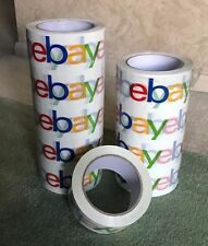 "eBay Branded Logo BOPP Shipping Tape 2"" x 75 yds"