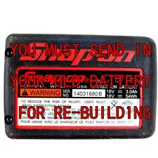 Battery Rebuild For SNAP ON 18 Volt CTB7185  4.0AH Li-Ion