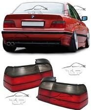 REAR TAIL LIGHTS RED-SMOKE FOR BMW E36 90-99 COUPE CABRIO SERIES 3 LAMP NEW