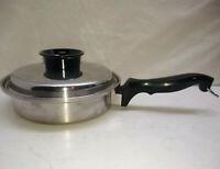 Chefs Ware Townecraft 18-8 Multi-Ply 1.5 Qt Skillet Saucepan Saute Pot & Lid