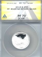 2019-S Proof Silver River of No Return ANACS Authenicated PF 70