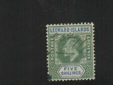 LEEWARD ISLANDS Scott #28 Used No Faults!