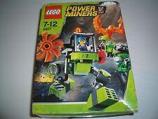 Lego 8957 * Power Miners * túnel alfil OVP completamente
