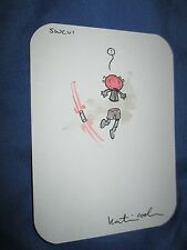STAR WARS CELEBRATION #6 Exclusive Original DARTH MAUL Art Sketch by Katie Cook