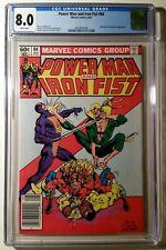 Power Man and Iron Fist #84 - CGC 8.0 - 4th app. Sabretooth
