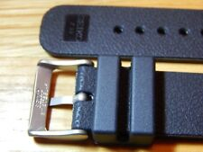BLACK SEIKO Z22 DIVERS RUBBER BUCKLE WATCH STRAP 22mm SKX 007 009 171 173 etc