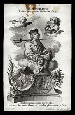 santino incisione 1700 S.AQUILINO M. klauber