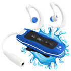 NGS Seaweed, 4GB Waterproof MP3 and WMA Player with FM Radio, IPX8 in Blue