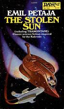 The Stolen Sun & Tramontane by Emil Petaja-Vintage DAW SF Paperback-1979