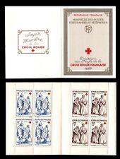 CARNET Croix Rouge 1957, Neufs **/* = Cote 90 € / Lot Timbres France