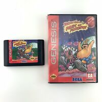 ToeJam and Earl in Panic on Funkotron Sega Genesis Case Game