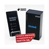 "SAMSUNG GALAXY NOTE 8 DUOS GRAY 64GB 6,3"" DUAL SIM N950FD N950F PER P.IVA-"