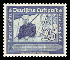 EBS Germany 1938 - Airmail - Count von Zeppelin Centenary - Michel 669 MNG (*)
