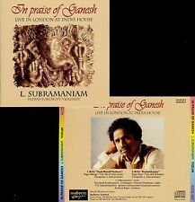 L SUBRAMANIAM  in praise of ganesh  LIVE IN LONDON AT INDIA HOUSE 1991