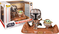 The Mandalorian with The Child STAR WARS Funko Pop Vinyl New in Box