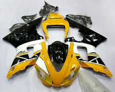 Yellow Black Complete Injection Fairing Bodywork For Yamaha YZF R1 1998-1999 98