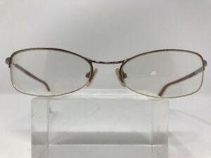 Coach Eyeglasses HANNAH 105 SAND 52-17-135 Silver/Translucent Orange G434