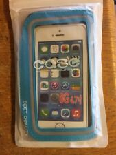 sports armband/ Money Holder/ Jogging Case For Iphone 6s Waterproof Blue