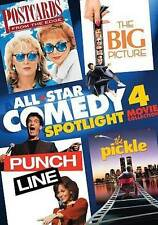 All-Star Comedy Spotlight 4-Pack (2014 DVD) POSTCARDS FROM THE EDGE,PUNCH LINE