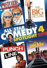 All-Star Comedy Spotlight: Four Movie Co DVD