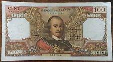 Billet de 100 francs CORNEILLE 2 - 2 - 1978 FRANCE T.1156