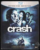 Crash: The Complete First Season 1 (4-Blu-ray set, 2009) NEW Dennis Hopper Starz