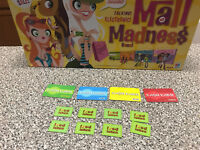 Mall Madness Milton Bradley Game Replacement 8 food tokens 4 cash cards 2004