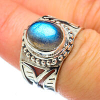 Labradorite 925 Sterling Silver Ring Size 7 Ana Co Jewelry R49360F