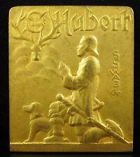 "Médaille Saint Hubert sc Schwab société canine bretonne Bretagne ""amavie"", medal"