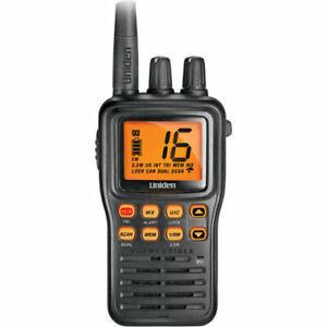 Uniden MHS75 VHF Marine Handheld Radio 2 Way Boat Submersible Waterproof NOAA