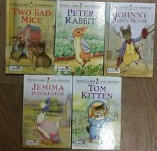5 LOVELY PETER RABBIT & FRIENDS BOOKS by LADYBIRD  ** £3.25 UK POST ** HB