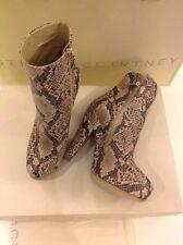 100% Genuine Stella McCartney Faux Snakeskin Ankle Boots UK 5 Euro 38 RRP £655