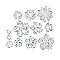 New Flower Metal Cutting Dies for DIY Card Making Scrapbooking Embossing