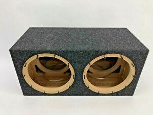 JL Audio 10W6v3 dual sealed subwoofer box