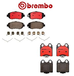 NEW Brembo Front & Rear Brake Pads Set Ceramic Kit For Lexus GS300 GS400 IS300