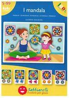 Sabbiarelli, Album - I mandala - 5 disegni (15x20cm) 100AL0543 giochi educativi