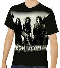 Jon Bon Jovi Herren Kurzarm T-Shirt Tee wa1 aao20013