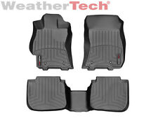 WeatherTech Floor Mats FloorLiner for Legacy/Outback - 1st & 2nd Row - Black