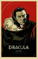 MONDO POSTER DRACULA POSTCARD MARTIN ANSIN UNIVERSAL MONSTERS SHOW CARD PRINT
