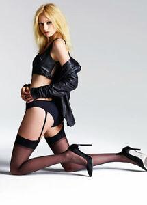 Jonathan Aston Vintage Legs Seduction Set Stockings and Suspender Black