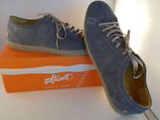 Softinos Tom Grey Suede Leather Shoes Men's Size 12 US New In Box