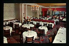 Restaurant postcard New York City NY, Divan Parisien  interior