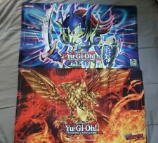 Comic-Con 2020 Yu-Gi-Oh! Toon BLS and Winged Dragon of Ra Playmats Official NEW!