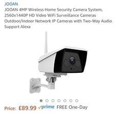 JOOAN 4MP Wireless Home Security Camera System, 2560x1440P HD Video WiFi