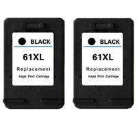 2x Ink Cartridges Compatible For HP 61 61XL Deskjet 3051 3054 3052A 3056A 3510