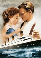 TITANIC Movie PHOTO Print POSTER Film Art Leonardo DiCaprio Kate Winslet 003