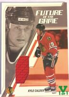 2002-03 Be A Player Memorabilia Future of the Game Jersey Kyle Calder Vault 1/1