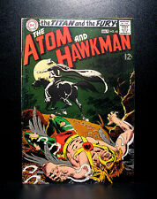 COMICS: DC: The Atom & Hawkman #43 (1969), 1st SA Gentleman Ghost app - RARE