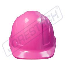 Pink Hard Hat JORESTECH Adjustable Ratchet Suspension Safety Cap Style