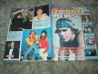 1979 Rona Barrett's GOSSIP Super Special Magazine Olivia, Raquel, Victoria, John